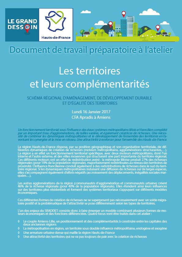Les territoire et leurs complementarites