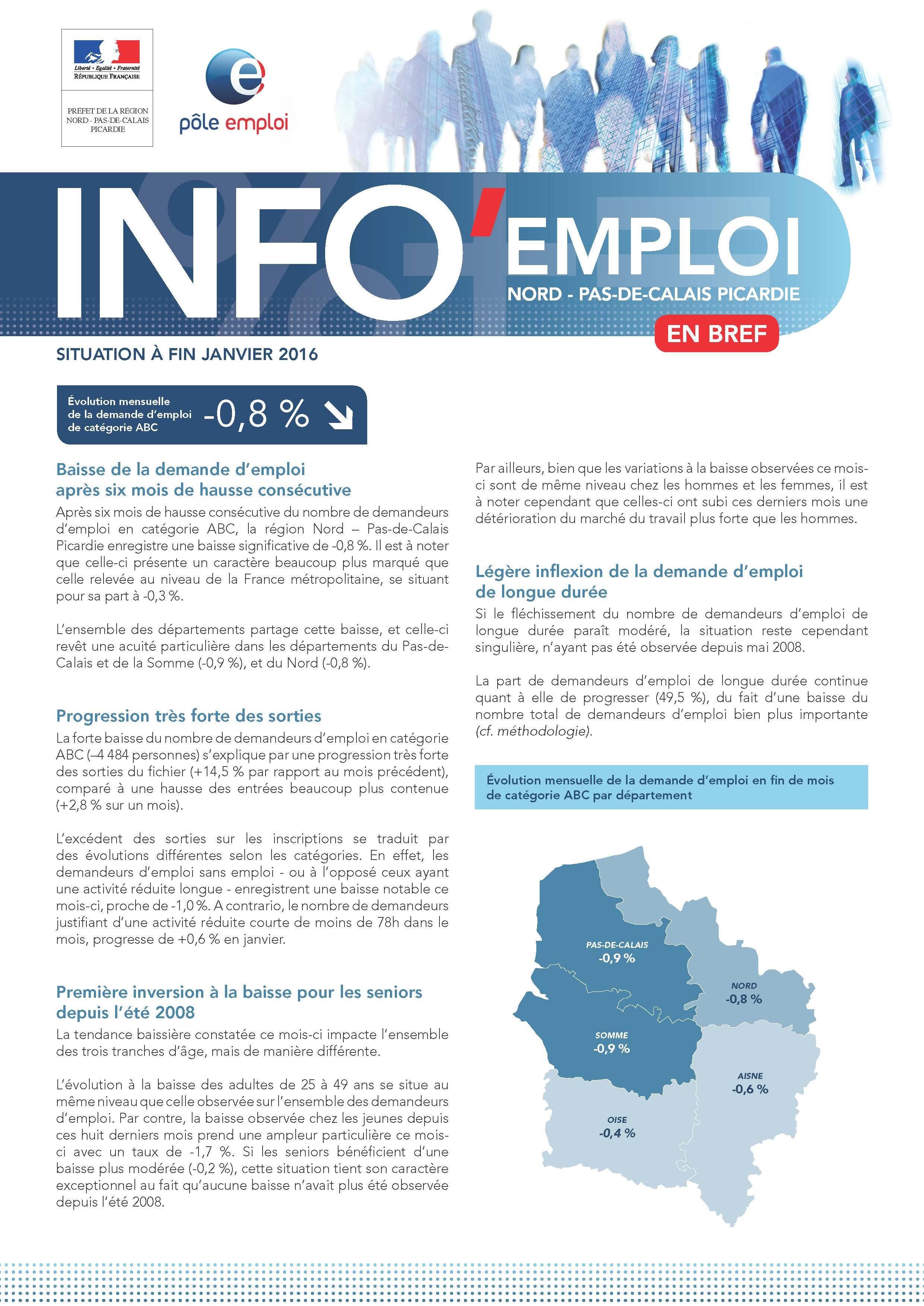 Logo info emploi pour l'article du web