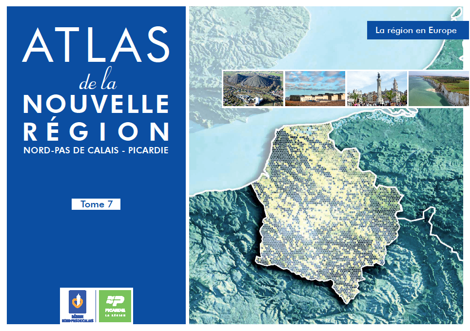 VISUEL ATLAS tome 7 - la région en Europe