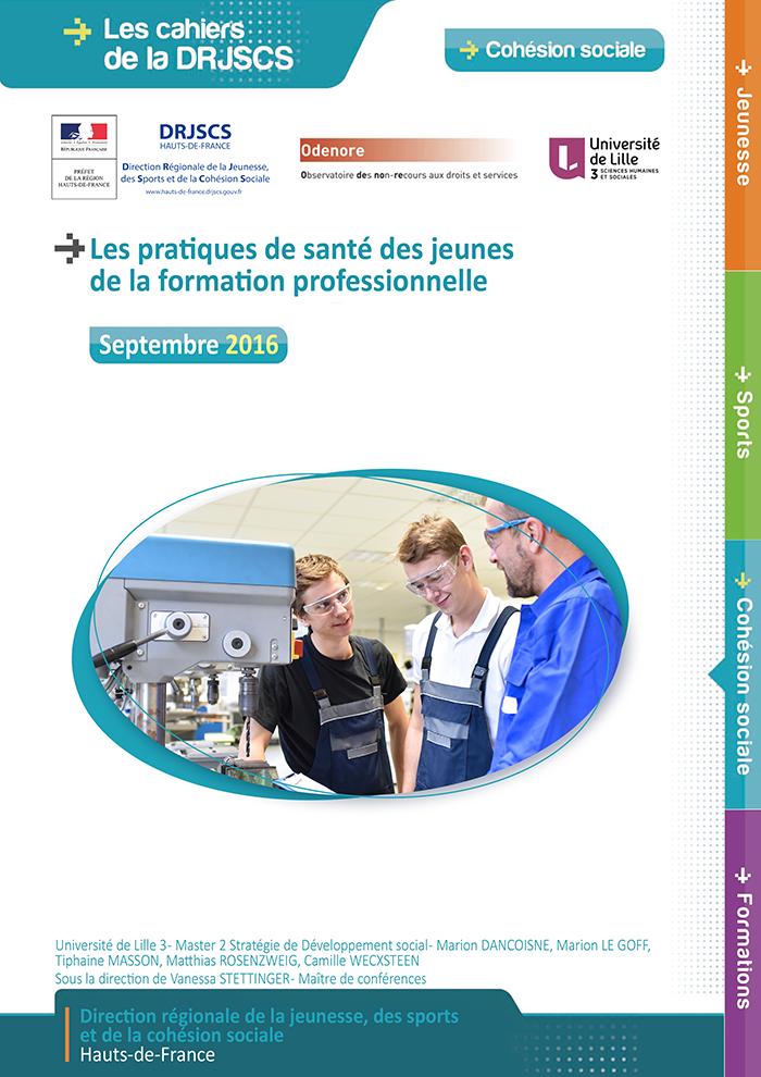 201609 - Cahier DRJSCS - Les pratiques de santé des jeunes v2-1