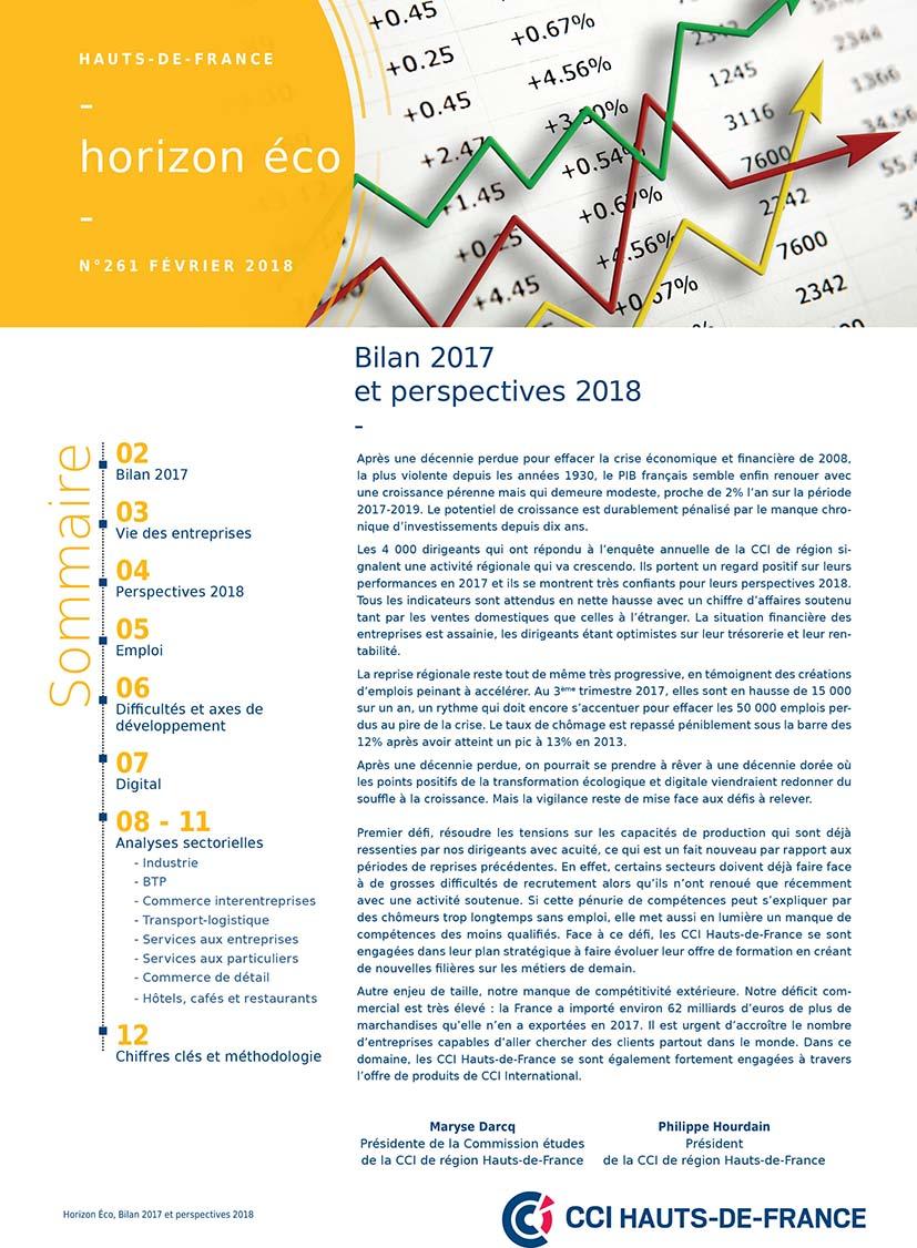 Bilan 2017 perspectives 2018 page de couv