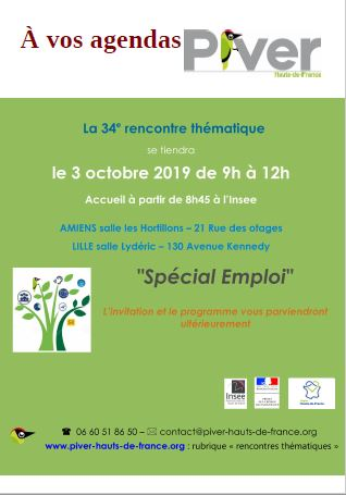 save the date -Emploi