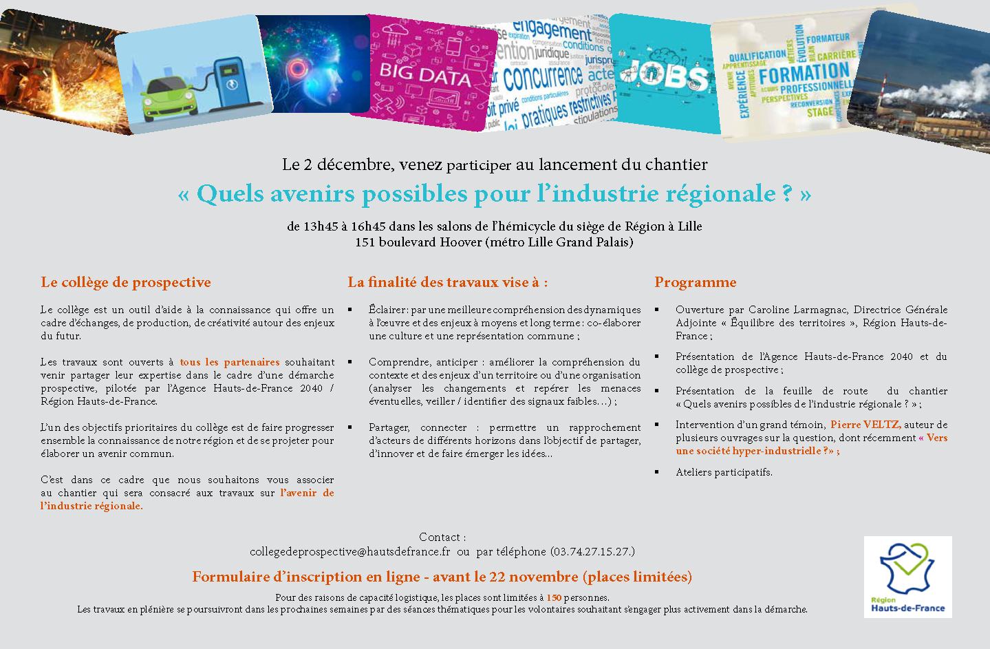 invitation industrie