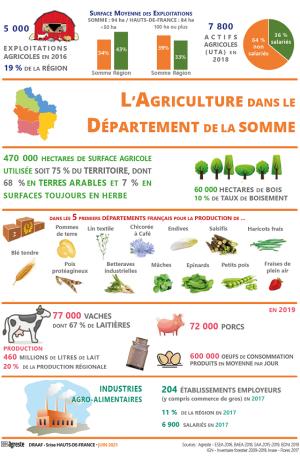 L'agriculture dans le département de la Somme
