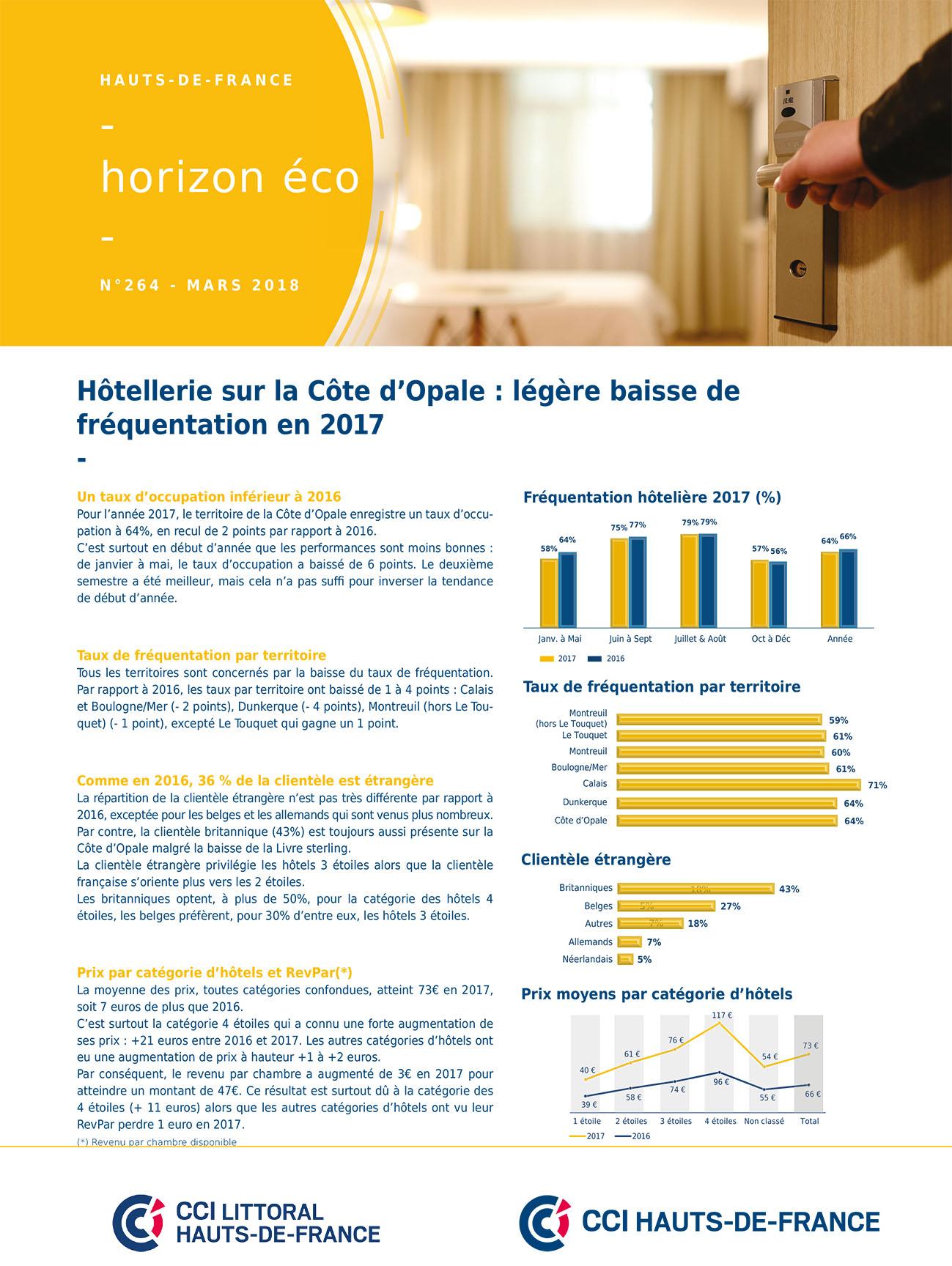 Observatoire hotelier 2017 page de couv